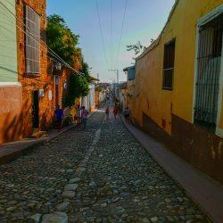 Calle cantos rodados
